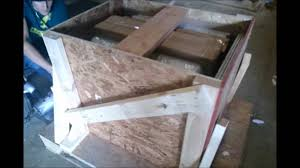 Lazy Granite Tile For Kitchen Countertops Lazy Granite Crate Weighs Almost 1 Ton Youtube