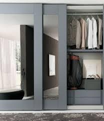wardrobe design sliding mirror interior design ideas bedroom