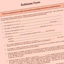 Apartment Sublease Template Can A Chicago Landlord Refuse A Sublese Sublease Basics