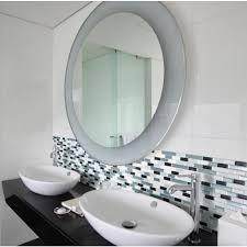 Adhesive Bathroom Mirror Smart Tiles
