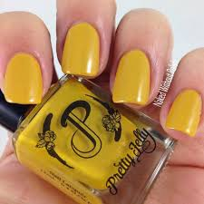 Welcome to the ten spot® the best choice for nails, wax, laser and skincare in hamilton, ontario. Pretty Jelly And Peggy Hamilton Inspired Yellow Holo Nail Polish