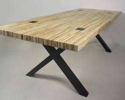 wooden table able pressed pallet wood tolhuijs