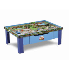Train Set Table With Drawers Fisher Price Thomas Wooden Railway Grow With Me Play Table Toysrus