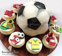 How To Decorate A Soccer Ball Cake Score Big With These World CupThemed Cakes and Cupcakes 26