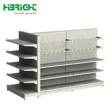 supermarket shelf type and double sided feature supermarket rack pictures photos