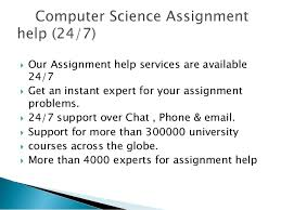computer science assignment help computer science online tutors more than 4000 experts for assignment help 14