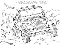 Gallery 'TeraFlex: Jeep Coloring Pages' - TeraFlex