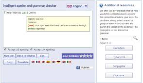 check grammar syntax spelling errors online proofreaders reverso spell checker