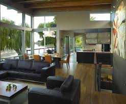 Luxury Contemporary House By The River In Washington IDesignArch - Contemporary house interiors