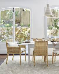 balboa side chair with cushion dining room via serena lily