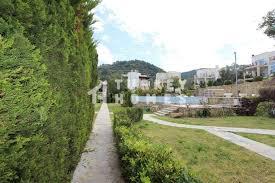 duplex garden apartment gokcebel bodrum communal landscaped gardens