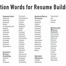 Adjectives For Your Resume Good Adjectives For Resume Sierra 40 Extraordinary Good Adjectives For A Resume