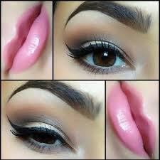 soft eye makeup looks for enement party styles eyeshadow image via indianbeautyforever diffe types