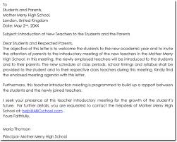 Letter Of Introduction Writing Tips With 40 Free Samples Examples Cool Letter Of Introduction Teacher