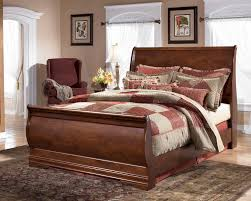 Modern Sleigh Bedroom Sets Modern Cherry Bedroom Set Home Design Ideas