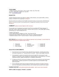 Resume Career Objective Examples For Mba Resume Ixiplay Free