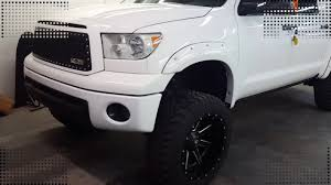 TOYOTA TUNDRA BUMPERS AND GRILL VINYL WRAP - YouTube