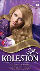 wella koleston hair dye kit 8 1 light ash blonde in saudi arabia