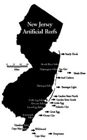 Artificial Reef Locations