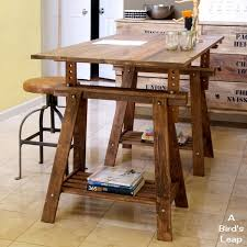 Modren Adjustable Height Desk Ikea A Leap Diy Rustic With Inspiration