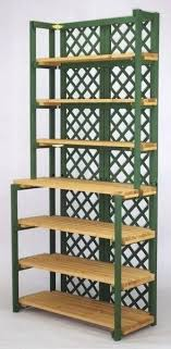 folding wooden shelves display shelf hutch 7 frame color choice folding wooden shelves