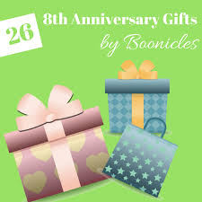 8th anniversary gifts ideas