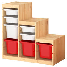 images furniture design. Brilliant Kids Storage Furniture Design With Red And White Bins For Modern Bedroom Ideas Images