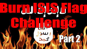 burn isis flag challenge part