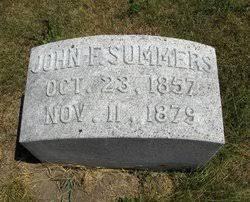 John Franklin Summers (1857-1879) - Find A Grave Memorial