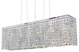 40 rectangular dining room crystal chandelier asian regarding attractive household rectangle crystal chandelier prepare