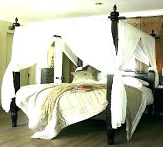 Chrome Canopy Bed King Good Frame Size Cheap – micolegio.co