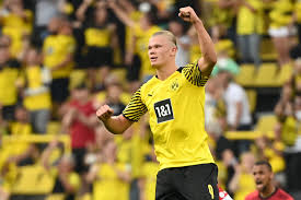 Erling braut haaland is a norwegian professional footballer who plays as a striker for bundesliga club borussia dortmund and the norway national team. Haaland On The Double As Dortmund Thrashes Frankfurt Bayern Held Daily Sabah