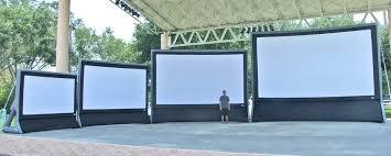 diy portable projector screen backyard projector screen material outdoor projection al portable diy small projector screen