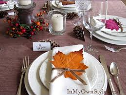 Tabletop Tuesday: Thanksgiving Table Settings Week 1 | Decorating Files |  decoratingfiles.com