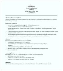Chronological Resume Example Reverse Chronological Resume Examples