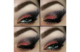 print eye makeup 1