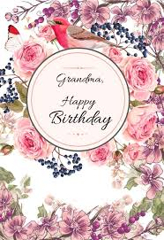 We hope you enjoy our happy birthday coloring pages. Grandma Printable Birthday Cards Printbirthday Cards