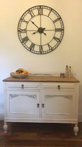 delivery dorset natural real oak dining set: shabby chic solid oak sideboard cupboard dresser hand painted annie sloan farrow table knightsbridge natural