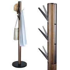 Flapper Coat Rack Fascinating Modern Coat Rack Stylish Modern Wooden Umbra Flapper Coat Stand For