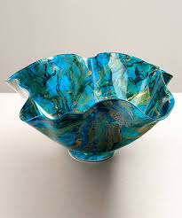 Decorative Glassware Bowls Kolman Artisan Glass 5