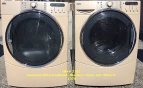 kenmore front load washer and dryer. inv# 3103 kenmore elite frontload- washer/ dryer set- electric $375 plus tax front load washer and