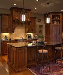 Modern Rustic Cherry Kitchen Cabinets Inset Cabinetry With Stained And Glazed To Decorating Ideas