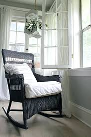 how to paint wicker and a wicker chair