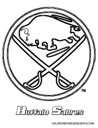 Small Picture Buffalo Sabres logo NHL coloring page Daddys pins Pinterest