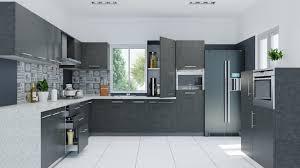Grey Modern Kitchen Design Kitchen Design Trends Two Tone Color Schemes Interior Design Ideas