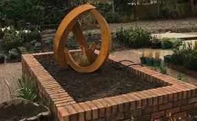 corten garden sculpture matt nichol