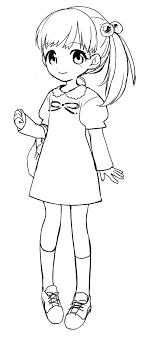 女の子 立ち絵と挿絵 スキマ スキルのオーダーメイドマーケット Skima