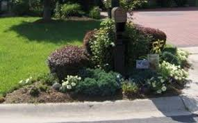 landscaping around mailbox post. Landscaping Around Mailbox Post Stylish On Other For A Garden Of Peace Rest And Tranquility Small