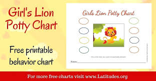 Potty Training Charts For Girls Free Potty Training Chart Girls Lion Charts Google Airsentry Info