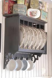 Plate Storage Rack Kitchen 17 Best Ideas About Plate Racks On Pinterest Cabinet Plate Rack